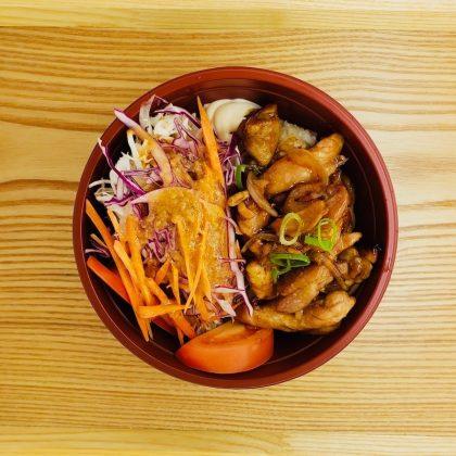 D1. ChickenTeriyakiDonburi